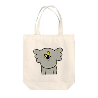 のんびりちょうちょ Tote bags