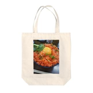 ねぎトロ丼 Tote bags
