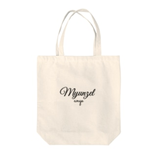ミュンゼルアンジュロゴ Tote bags