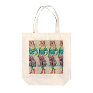 ねこ好きさんへ Tote bags