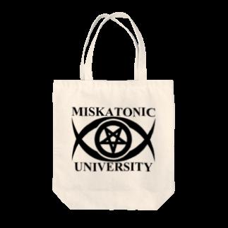 AURA_HYSTERICAのMISKATONIC UNIVERSITY Tote bags