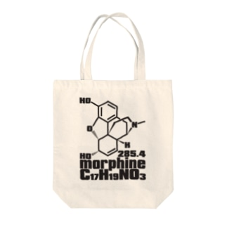 morphine Tote bags