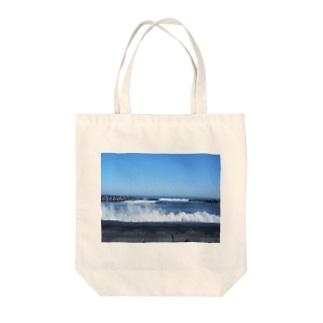 ミラーレス一眼で地元の海を撮った Tote bags