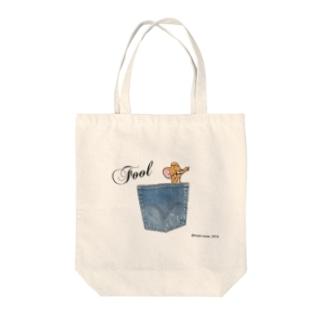 Fool TOM Tote bags