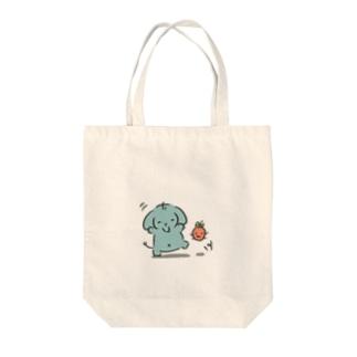 ゾウのパオパオ太郎 Tote bags