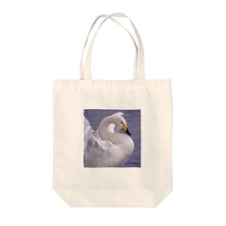 トートバック 白鳥 1 Tote bags