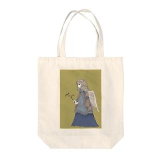 鶯ちゃん Tote bags