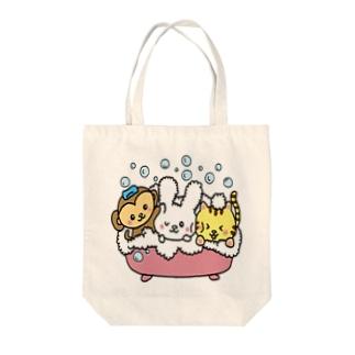 ピコピコうさたん(うさぎの妖精) Tote bags