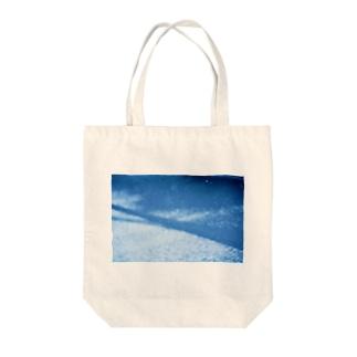 冬の標べ Tote bags