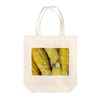 トウモロコシ Tote bags