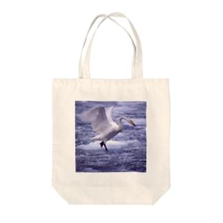 トートバック 白鳥 2 Tote bags