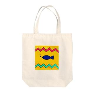 さかな Tote bags