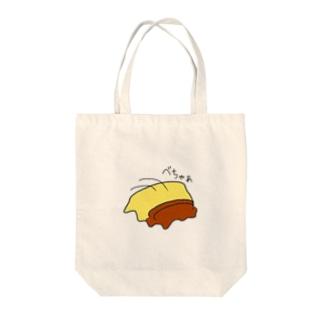 五体投地ぷりん Tote bags