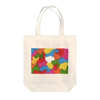 コロナ未来 Tote bags