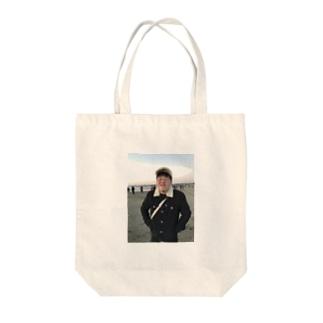 笑顔の暴力 Tote bags