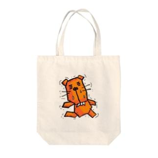 ガタガタぬーさん Tote bags