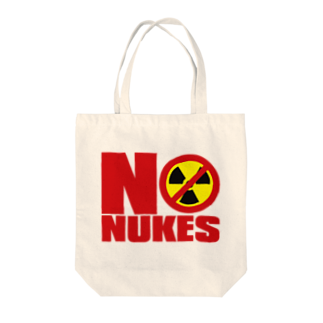AURA_HYSTERICAのNO_NUKES Tote bags