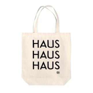 HAUS HAUS HAUS トートバッグ Tote bags