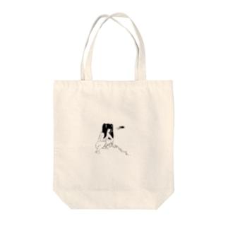 peequod×小骨トモ コラボ Tote bags