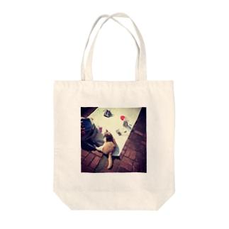 愛芸猫 Tote bags