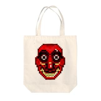 スリランカ仮面 Tote bags