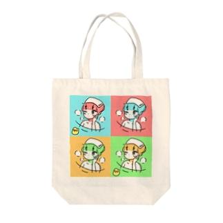 銭湯ガール Tote bags