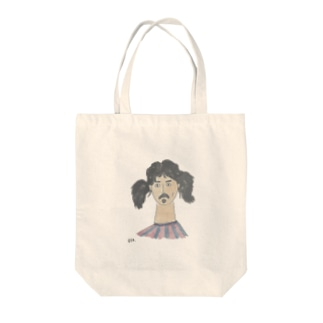 TWIN TAIL Tote bags