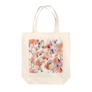 Abstract Color Lab:  Warm × Relax Tote bags