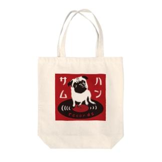 ハンサムレコード公式ロゴ Tote bags
