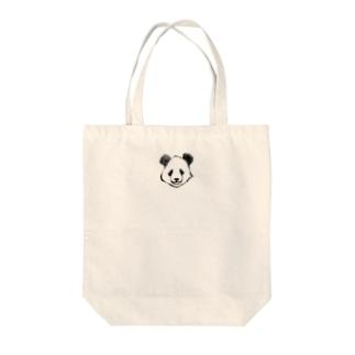 哀愁ぱんだ Tote bags