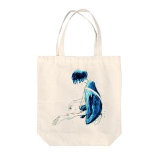 テレキャス Tote bags