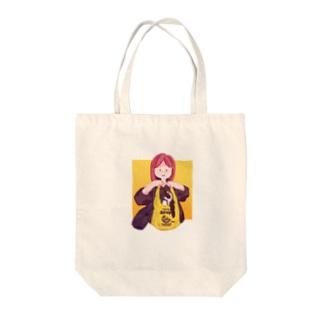 買い物びより Tote bags