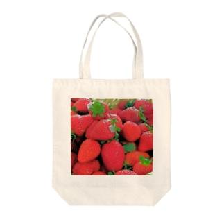 花びらいちごD Tote bags