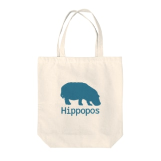 Hippopos Tote bags