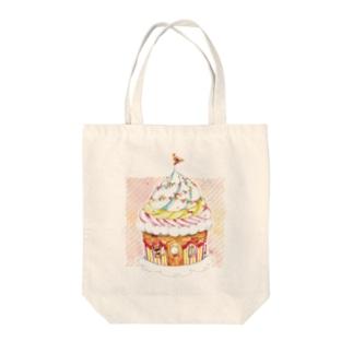 2LDKカップケーキ Tote bags