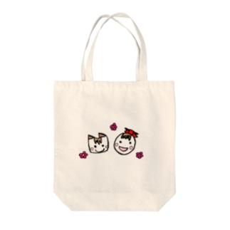 たま子とねこ Tote bags