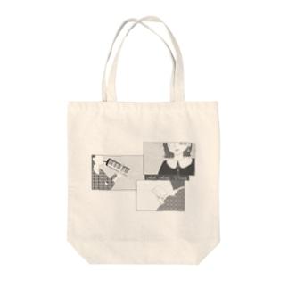 Act Anti Virus 第4弾 モノクロ Tote bags