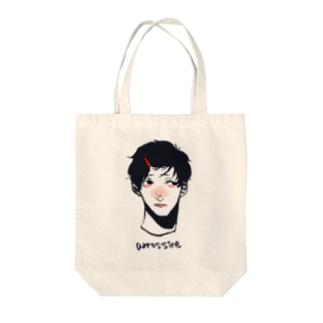 赤面 Tote bags