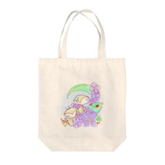 コビト Tote bags