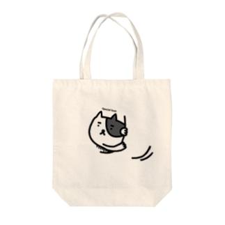ネコの特等席 Tote bags