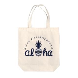 パイナップル 16(heart) Tote bags