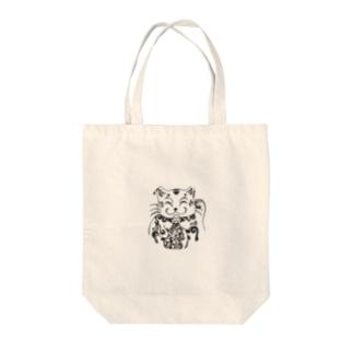招き猫 Tote bags