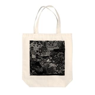 モザイク Tote bags