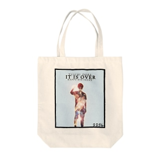 it is over Tote bags