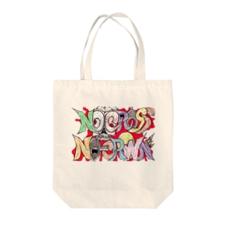 Rami-chanのNo Cross No Crown  Tote bags