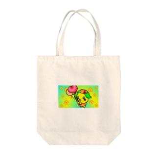 みかぽん Tote bags