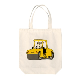craft clipsのはたらくしょくぱん/ロードローラー Tote bags