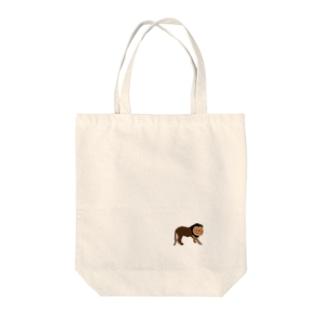 ライオン Tote bags