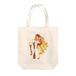 恋する球体関節人形 Tote bags