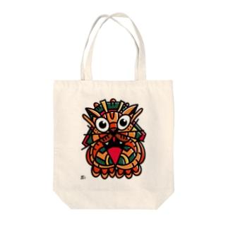 ネコスピリット Tote bags